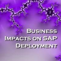 Business Impacts on SAP Deployment