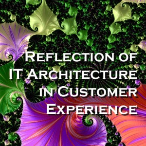 Reflection of IT Architecture in Customer  Experience - A Summary