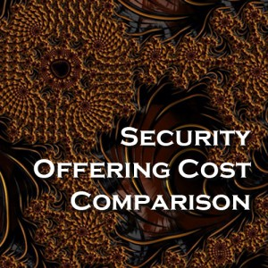 Security Offering Cost Comparison - Query