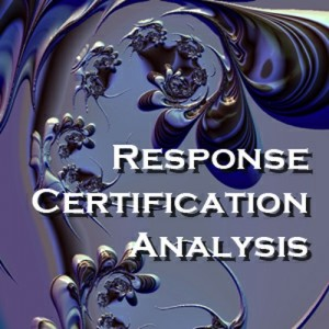 Response Certification Analysis (RFP)