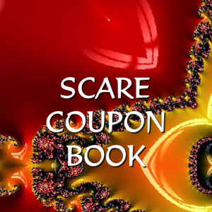 SCARE Store Coupon Book