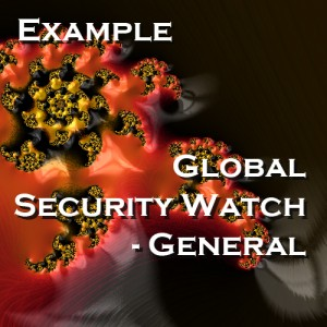 Global Security Watch - General - Example